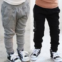 2013 spring all-match boys clothing girls clothing child harem pants breeches long trousers kz-1392 (CC019N)