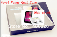 Discount-5k Stock Ainol NOVO 7Ainol Novo7 Venus Quad Core Tablet PC 16GB Dual Camera Tablet -White, Black