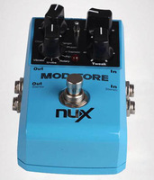 NUX MOD CORE Guitar Pedal all in one, Chorus, flanger, phaser, tremolo, rotary, pan, u-vibe and vibrato