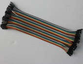 Free Shipping 400pcs cable jumper wire dupont line female to female dupont line 20cm 1P-1P IN STOCK