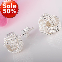 Wholesale Jewelry 925 Silver Earring.High Quality,Fashion/Classic Jewelry,Nickle Free,Free Shipping Lost Money Promotion LTE003