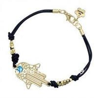 Free Shipping 12PCS/Lot Nice Gold Plated Fashion accessories fatima Hand bracelet lucky bracelet 2013 Wholesale Bracelet