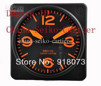 Luxury Home Decor Wall Clocks Brand Watch Magnify Watches High Quality Orange Wall Clock 33CM*33CM