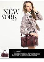Vintage Genuine Leather Shoulder Bags Classic Women's Adjustable Handle Handbag Messenger Bag Brand,Free Shipping