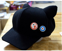 Evangelion EVA  caps asuka hat Q version of winter hats cartoon cat new theatre