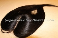"10% discount-Brazilian virgin hair 4""x4"" lacetop closure, silky straight with middle partting"