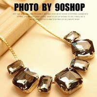 1170 necklace female short design necklace gem fashion vintage crystal fashion necklace