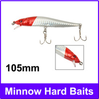 105mm Minnow Hard Baits Fishing Lures Mixed Fishing Tackle Baits Minnow