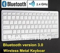 2.4G Spanish Bluetooth Wireless Keyboard Spanish Keyboard for Mac Ipad Iphone & Windows,Free Shipping