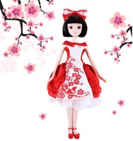 Kurhn doll Chinese Doll 29cm princess doll girls toys ordinary model Hi Mei shoot 1180 toys for children Fashion Doll