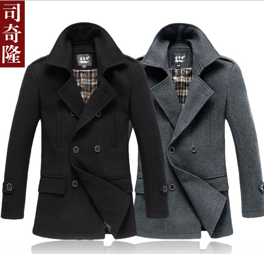 2017 Wholesale 2015 New Brand Fur Leather Jackets For Men Coat