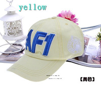 Fashional embroidery a baseball caps personalized cotton caps baseball with letter AF1 custom