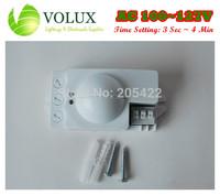 AC110V - 127V Microwave Motion Sensor Microwave Movement Sensor Active Motion Detector 3seconds~4Minutes Adjustable
