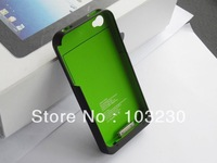 20PCS External Battery Case1900Mah External Battery Case For Iphone 4 Extend EMS FreeShipping