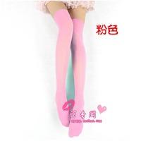 Sex products lingerie women's stockings temptation thick velvet long boot socks stockings 415 pink