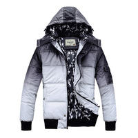 Good Quality Warm Man's winter wadded jacket Men thick cotton-padded jackets Man Fashion coats Free Shipping