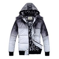 Good Quality Warm Man's winter wadded jacket Men thick cotton-padded jackets Man Fashion coats Free Shipping