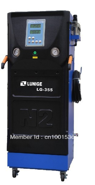 Fully Automatic Intelligent Digital Tire Nitrogen Producing/Inflator(China (Mainland))