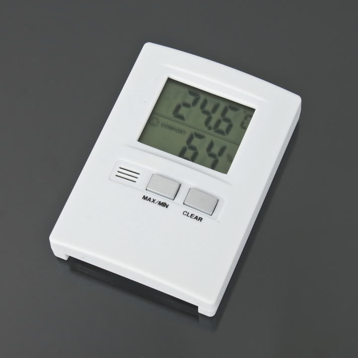 Pocket Digital LCD Thermometer Temperature Humidity Hygro Hygrometer Indoor Room, Free & Drop Shippinig(China (Mainland))
