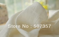 Wholesale Soft bamboo fiber double gauze / white / baby soft fabric / garment diapers / width 2.1M 0041