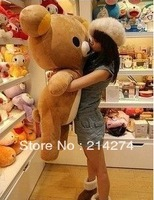 Freeshipping ,Chinese valentine's day sale SAN - X Rilakkuma copyrighted easily teddy bear plush toys/cute doll 110cm