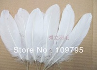Wholesale 100pcs/Lot Turkey Feather Natural Feathers White Black Party Wedding Jewelry Decors Free Shipping