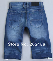 Hot sell !! Free shipping new style fashion 2013 short  jeans  Brand SIZE 28-36  Men's jeans short