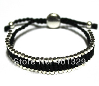 White And Black Friendship Bracelet, Distinct Colors Express Your Distinct Feelings to Your Friend