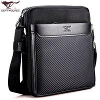 SEPTWOLVES man bag commercial messenger bag casual shoulder bag male backpack