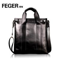 Feger male backpack business casual bag cross-body shoulder bag handbag bag vertical section