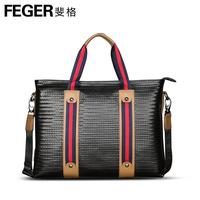 Feger backpack man bag shoulder bag handbag briefcase laptop bag leather bag