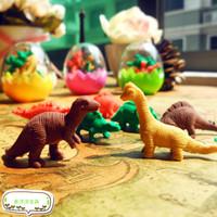 Child day gift cartoon multi-colored mini dinosaur egg small eraser