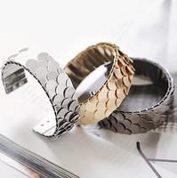 207x fashion personality scales bracelet fish scale bracelet