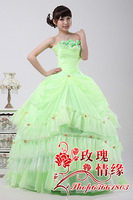 2013 tube top princess sweet wedding brief fashion swithin wedding evening dress