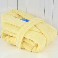 100% cotton bathrobes female thickening autumn and winter 100% cotton robe male lovers sleepwear ultra long bathrobe lounge