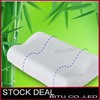 free shipping 100% bamboo fibercover 30x50 Slow rebound memory foam pillow cervical health care BZ03p(China (Mainland))