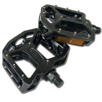 Pedal wellgo a8 vega mountain bike foot aluminum alloy full black a8 pedal pedal