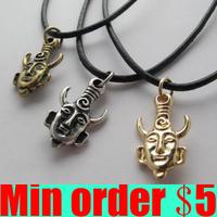 (Minimum order $5,can mix) Supernatural Dean's Amulet Necklace Punk Men Necklace