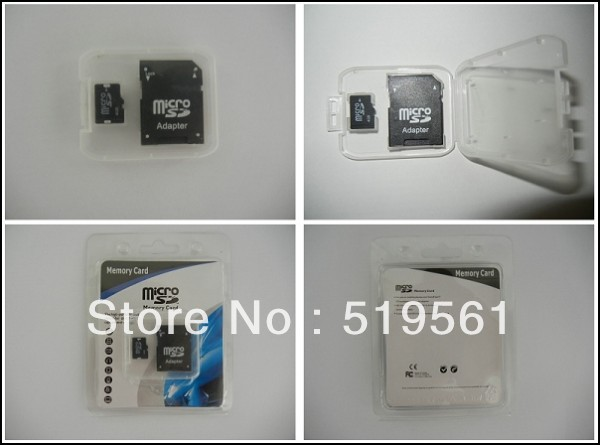 200pcs Micro SD Card Top Quality Memory Card 2GB 4GB 8GB 16GB 32GB With Retail Box For MP3 MP4 Phone Tablet PC Free Shipping(China (Mainland))