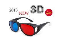 About genuine 3D glasses Anaglyph glasses baofengyingyin PC TV myopia Universal
