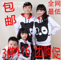 Fashion autumn family set clothes for mother and son clothes for father and son family fashion autumn 2013 tendrils