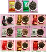 11 flavors oolong the tea  black tea dahongpao puerh pu'er  tie guan yin milk tea xi hu long jing puer  jasmine green tea M-XXL