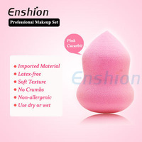 Enshion new facial puff cellulose sponge cleaning sponge make up sponge puff