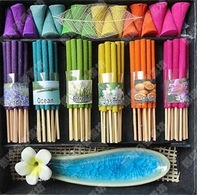 Incense Thailand incense set  blagift Tower incense retail Send sweet dish free shipping 1bag/lot