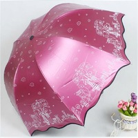 Fatastic! Cute Cartoon Princess Falbala Sun-proof Anti-UV Umbrella Sun Umbrella Rain Umbrella Free Shipping
