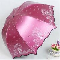 Fatastic! Cute Cartoon Princess Falbala Sun-proof Anti-UV Umbrella Sun Umbrella Rain Umbrella Free Shipping