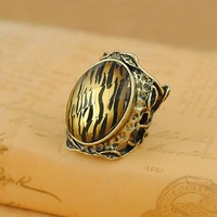 Vintage finger ring 2013 fashion vintage leopard jewelry trendy rings for women/men R1200