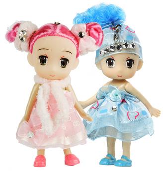 Princess doll mobile phone strap z011