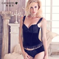 arrail fashion ballet split beauty care women's spaghetti strap shaper underwear set free shipping