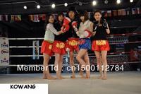WINDY --- Men, Women Muay Thai shorts, of Mickey satin Thai models Muay Thai Shorts
